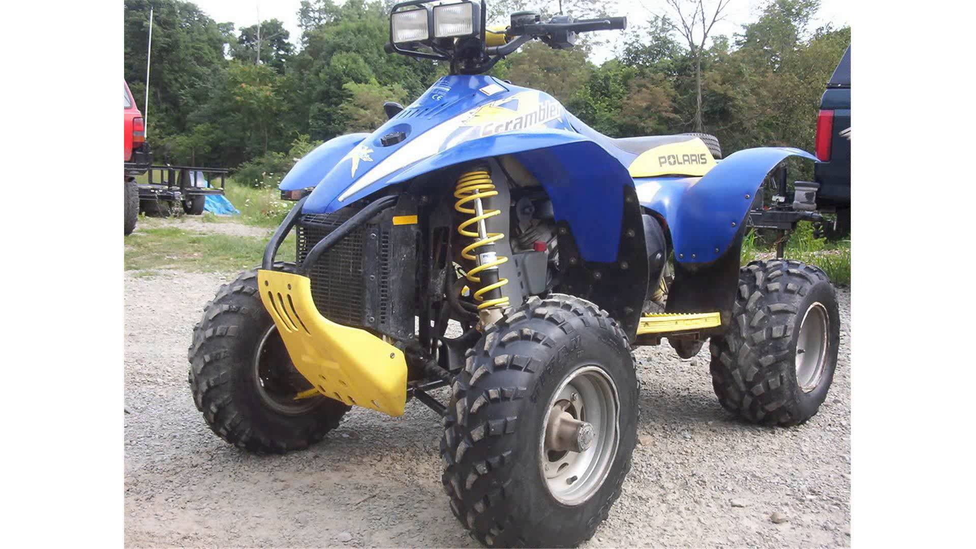 Polaris Scrambler 400/4x4 2001 images #120991
