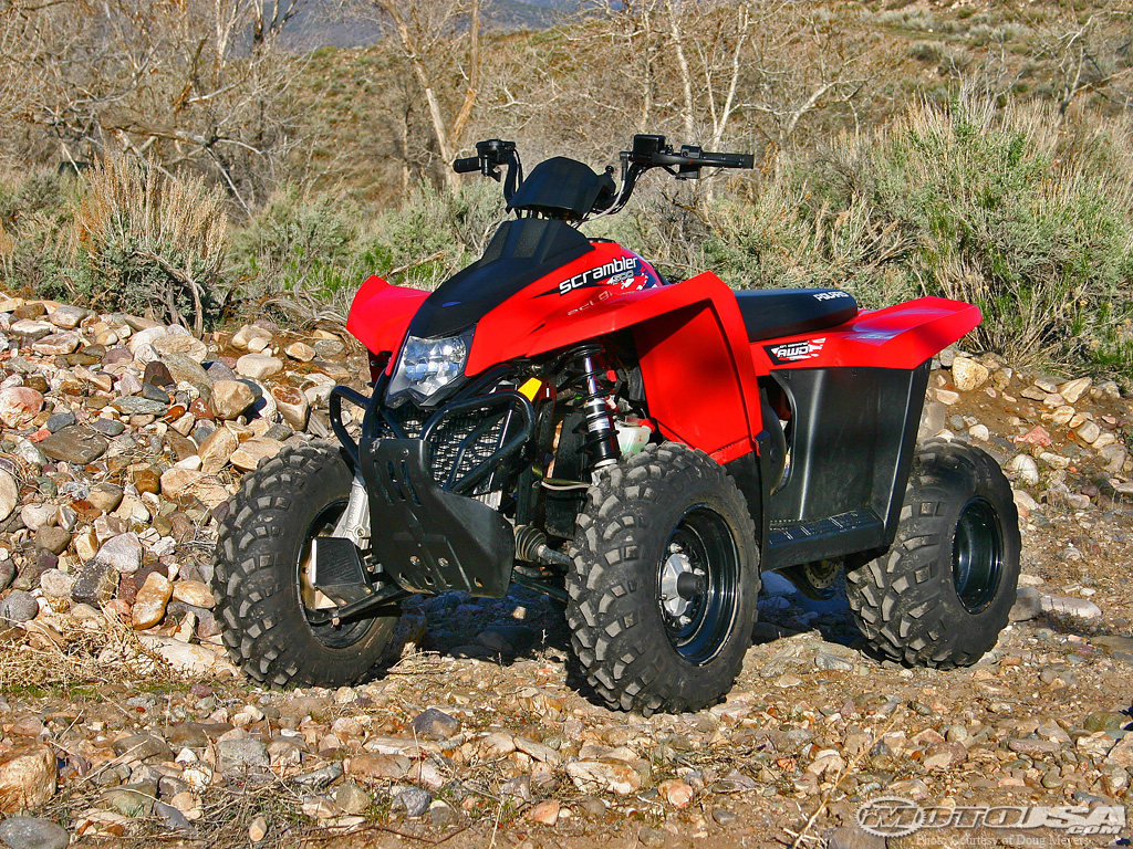 Polaris Scrambler 500 2008 images #121290