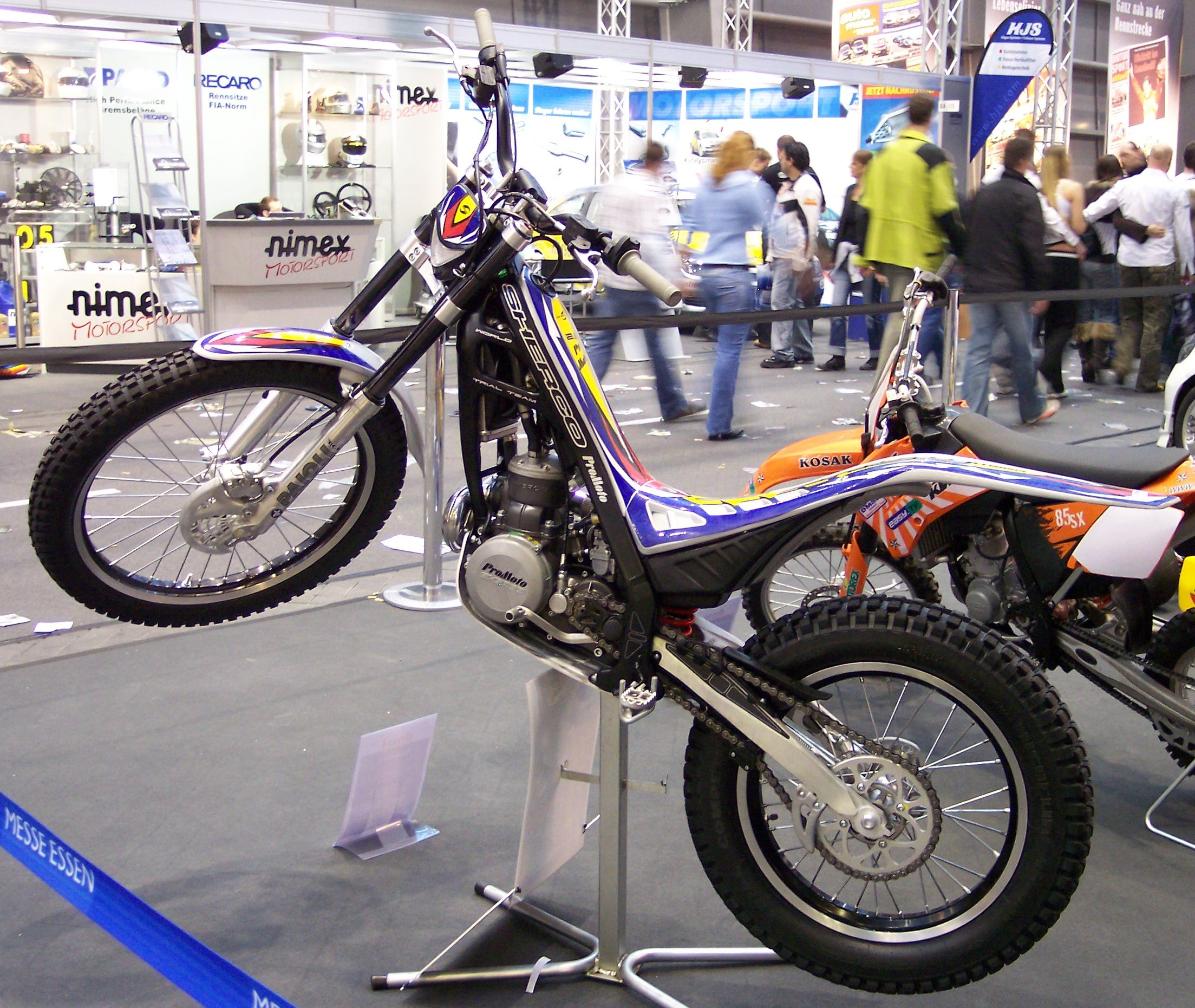 Sherco 125 Enduro Shark Replica images #124652