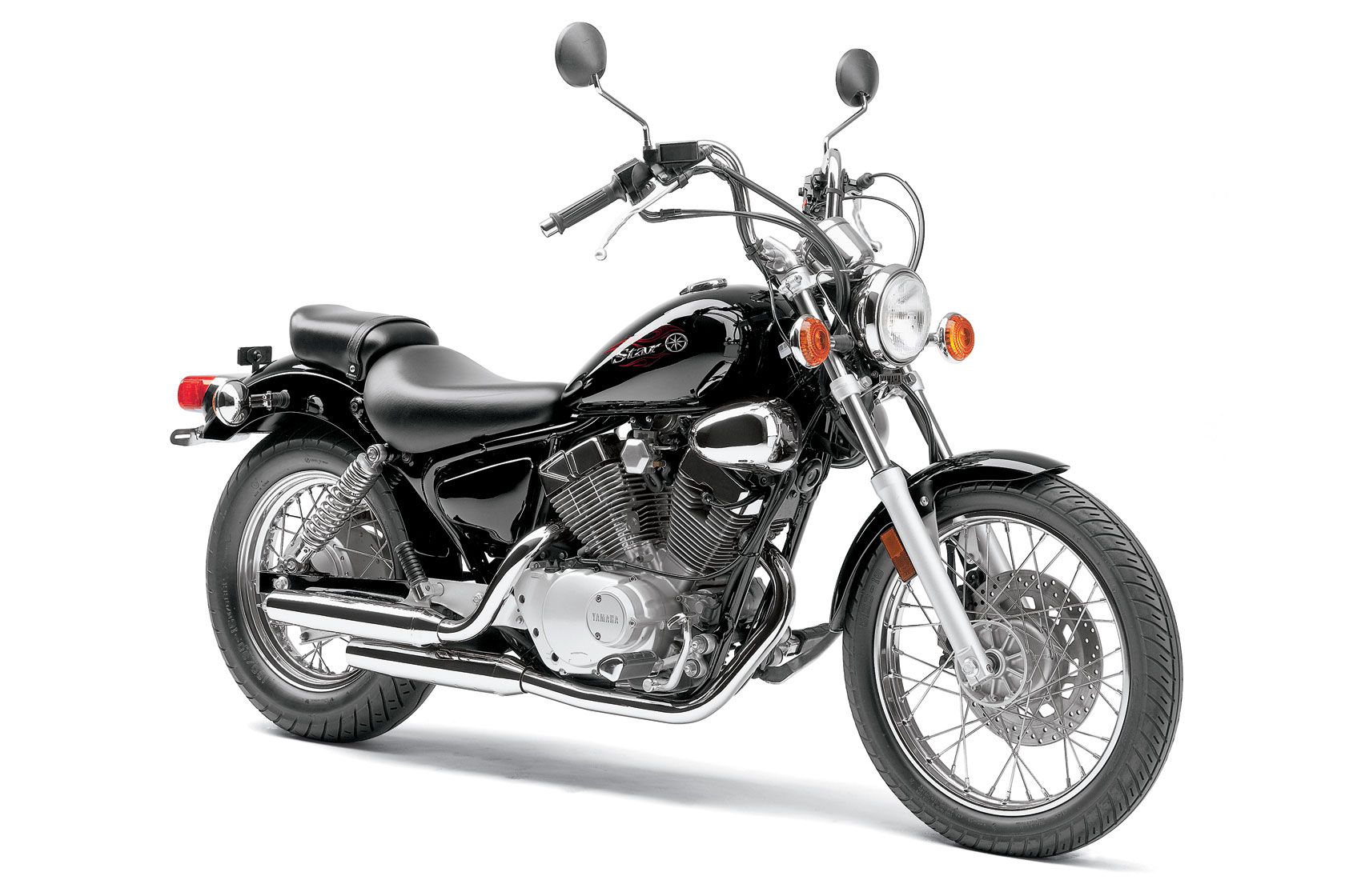 Yamaha V Star Weight