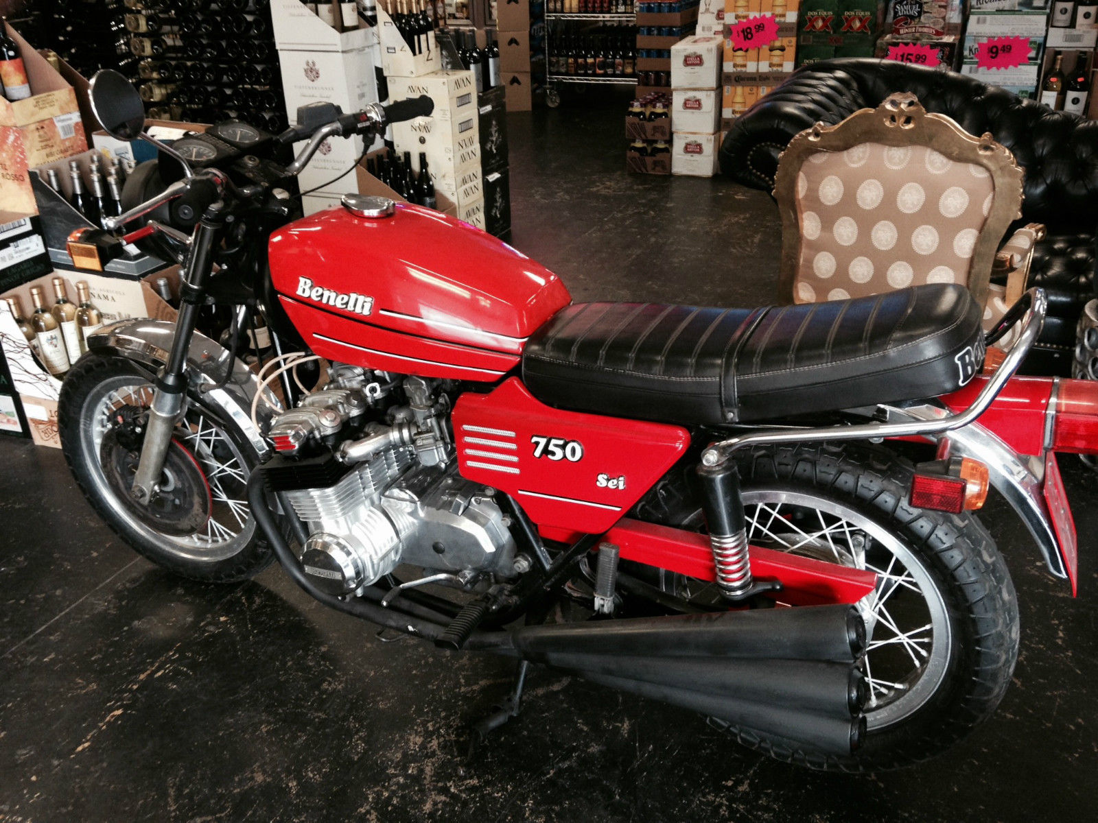 Benelli 350 RS 1979 images #75874