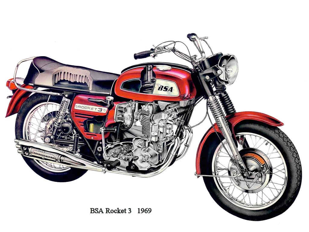 BSA A 75 Rocket 3 images #92836