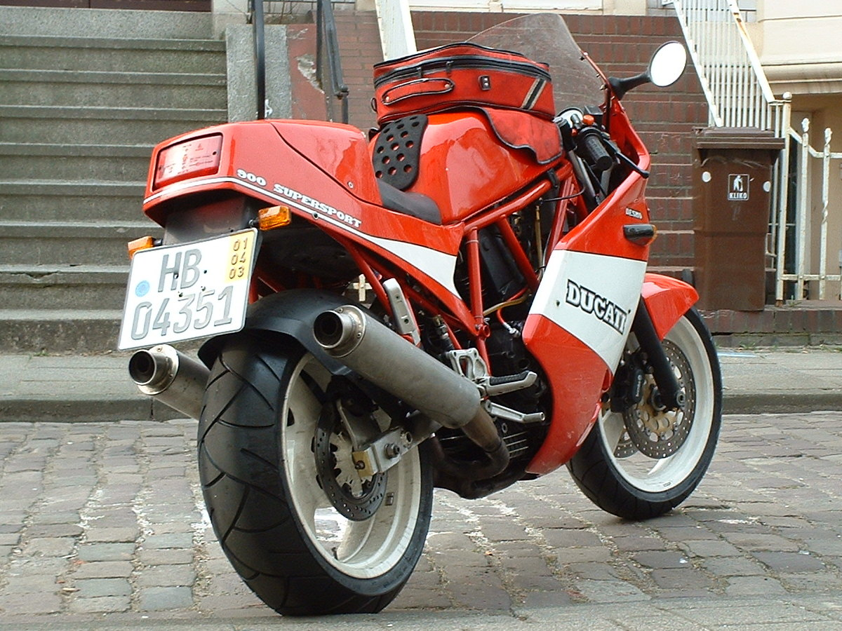 Ducati 900 SS Super Sport 1989 wallpapers #10442