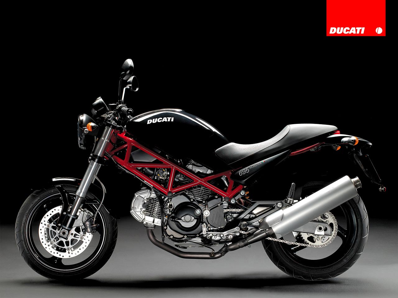 Ducati Monster 695 2008 wallpapers #12331