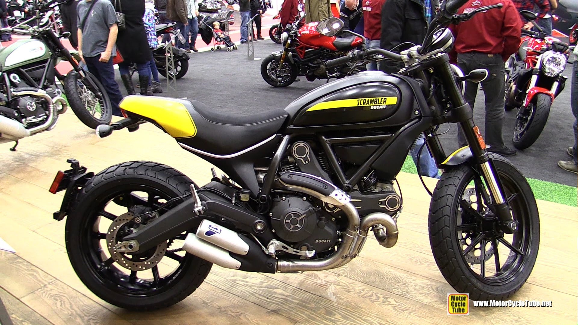 Ducati Scrambler Full Throttle 2015 wallpapers #13425