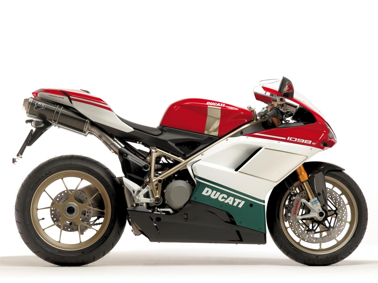 Ducati Superbike 1098 S Tricolore 2007 wallpapers #12033