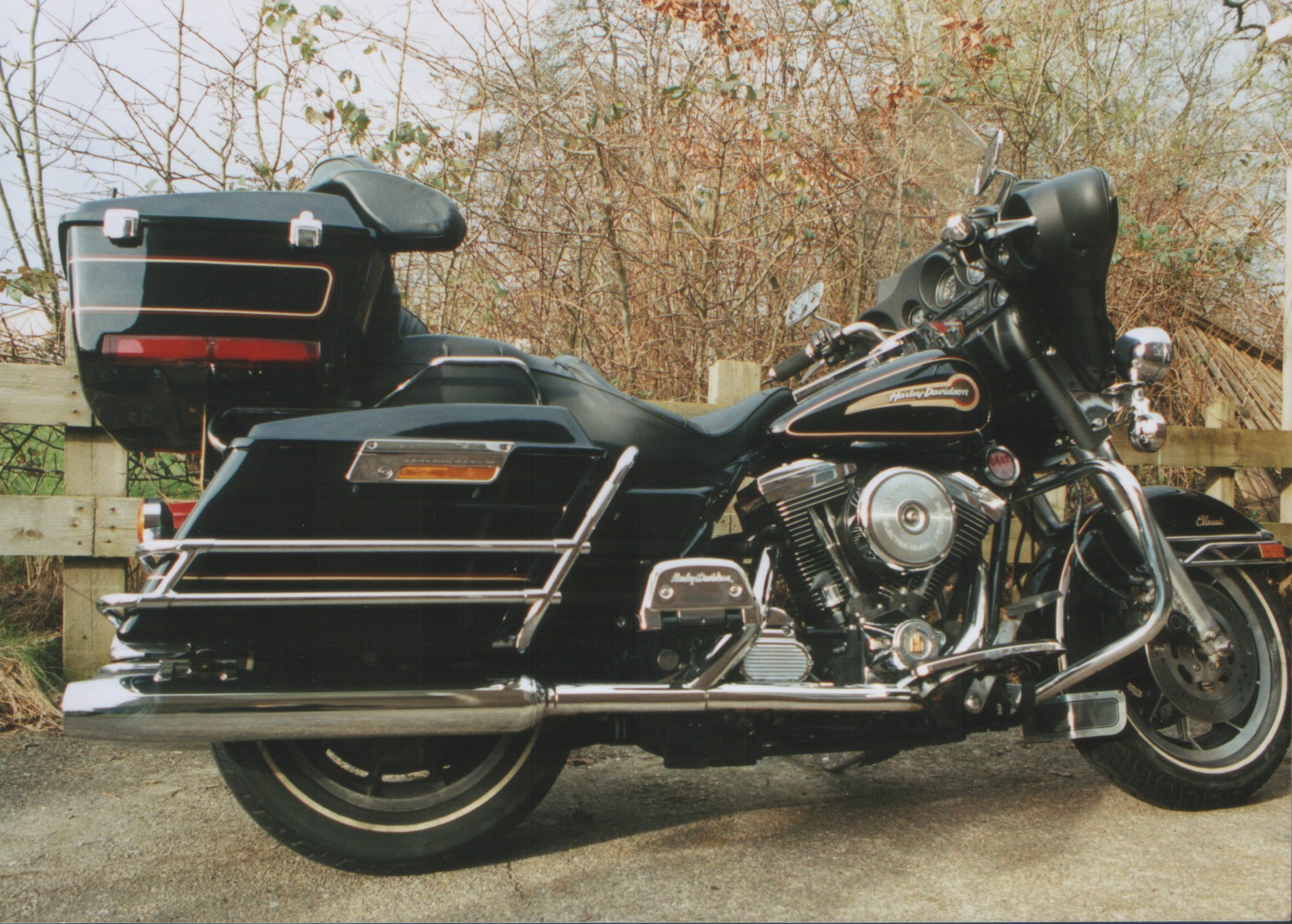 1990 harley davidson flhtc 1340 electra glide classic pics specs and information. Black Bedroom Furniture Sets. Home Design Ideas