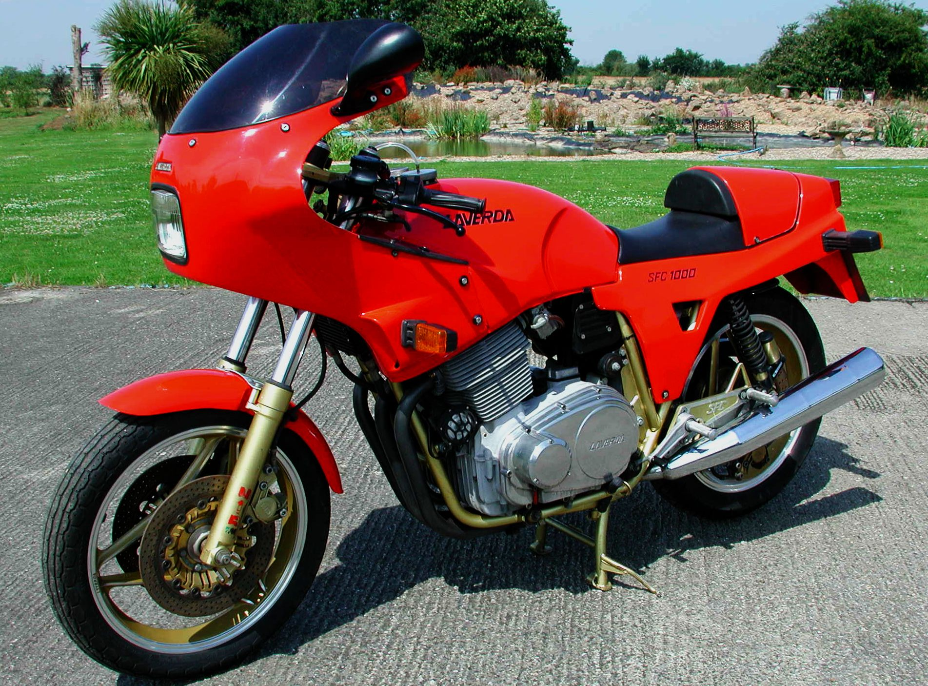 Laverda 1000 SFC 1985 wallpapers #144455