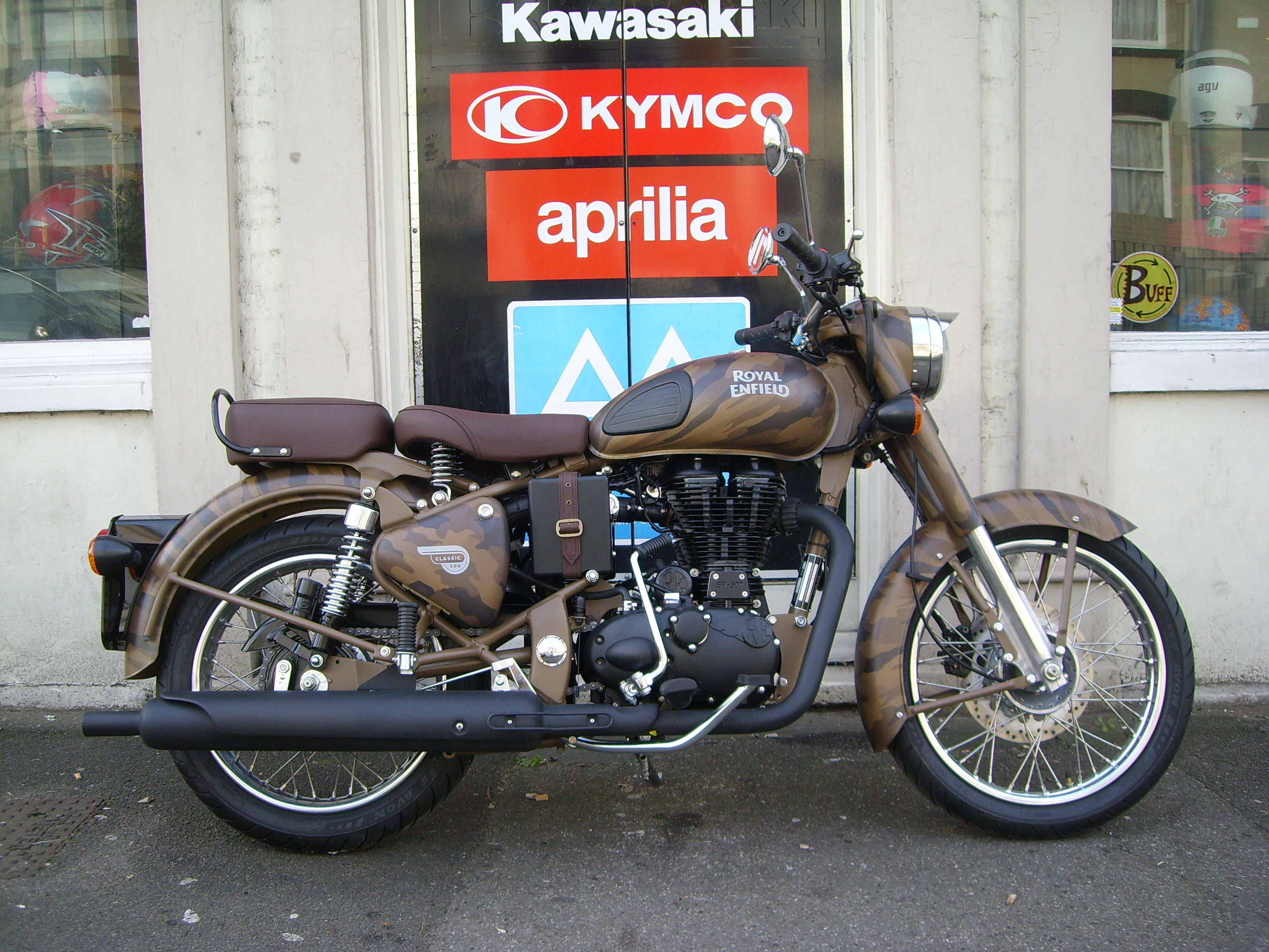 Royal Enfield Bullet 500 Trial Trail 2001 images #122965