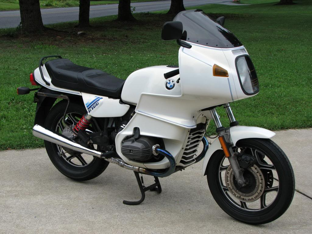 BMW R100RT Mono 1989 images #5393