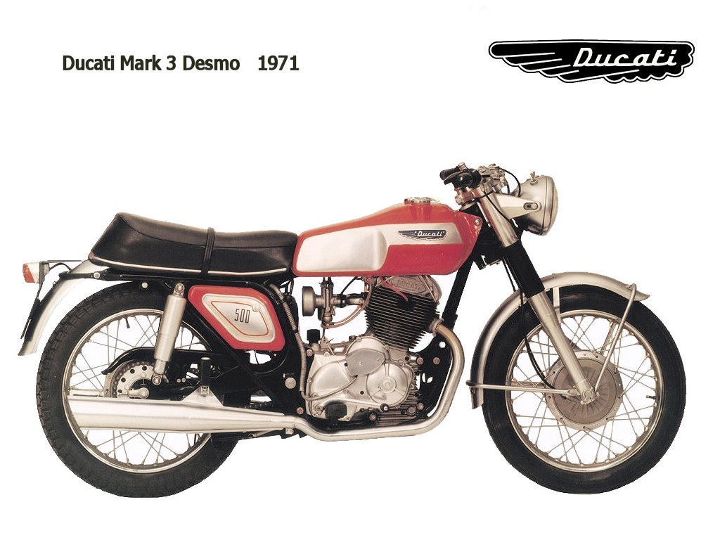 Ducati 250 Mark 3 D images #10046