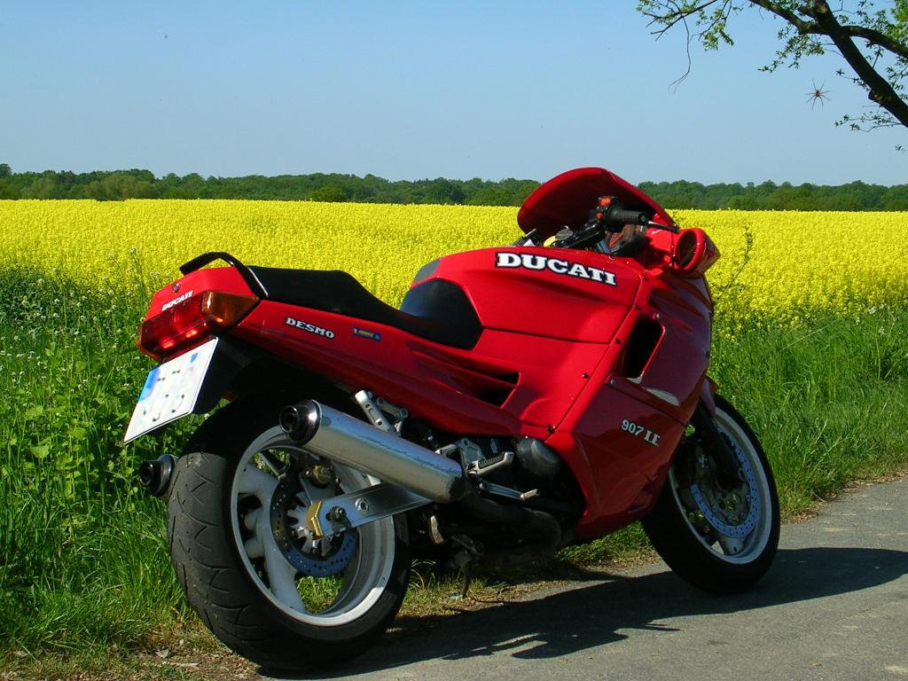 Ducati 907 i.e. Paso 1992 wallpapers #12828