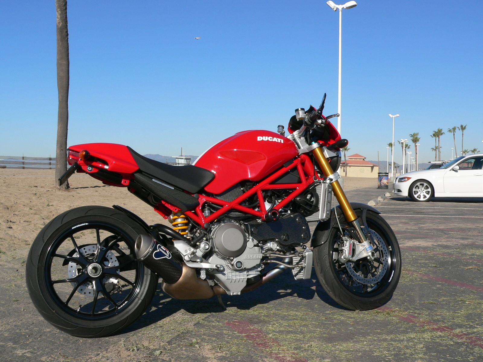 Ducati Monster S4R Testastretta 2007 wallpapers #133155