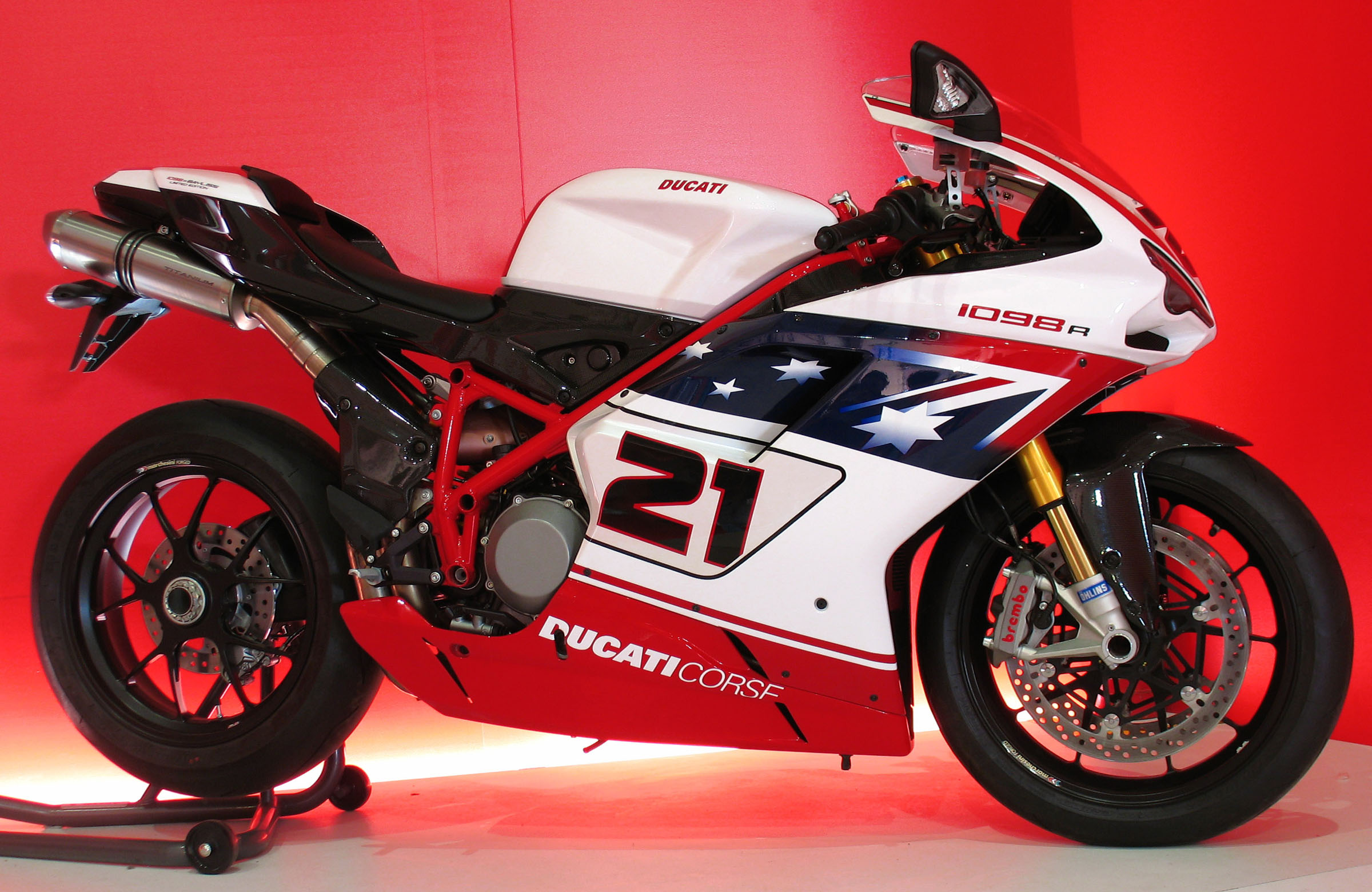 Ducati Superbike 1098 R Bayliss Limited Edition 2009 wallpapers #12431