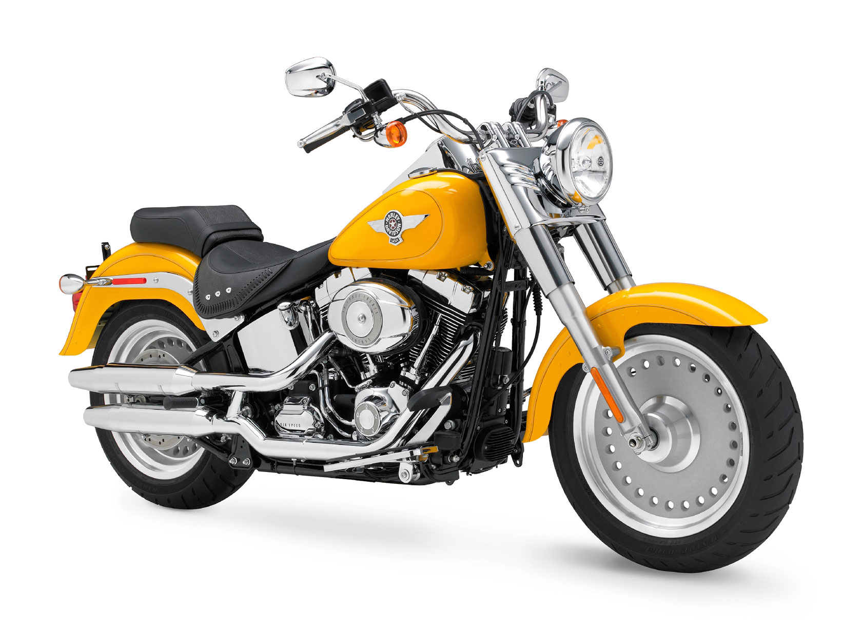 Harley-Davidson FLSTF Fat Boy 2011 wallpapers #133645