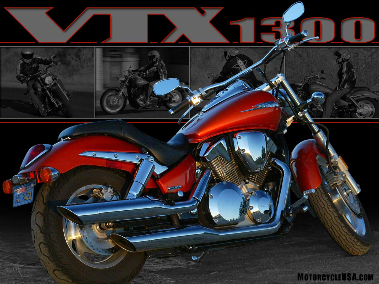 Honda VTX 1300 R 2001 wallpapers #134043