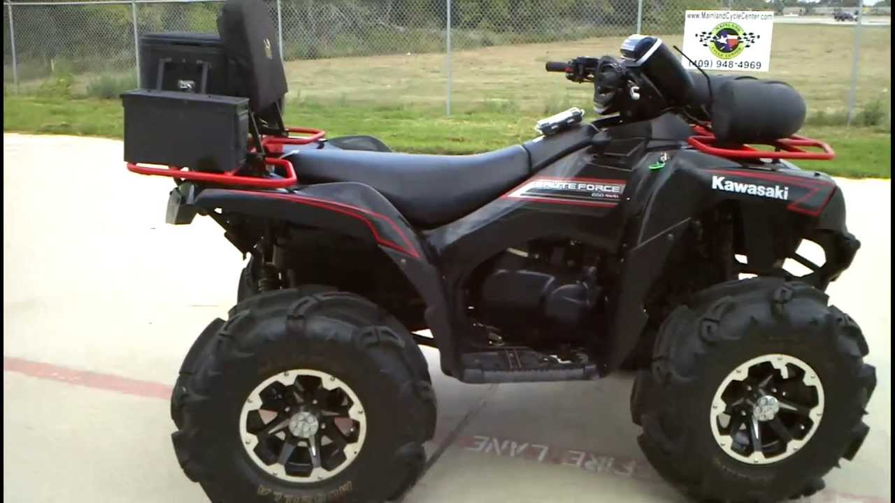 Kawasaki Brute Force 650 4x4 2011 images #86184