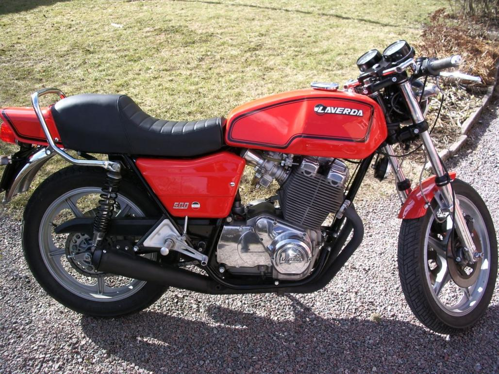 Laverda 500 1977 wallpapers #145846
