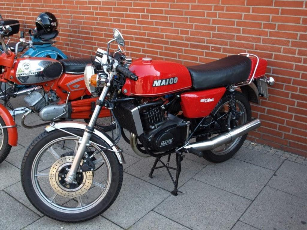Maico MD 250/6 1975 images #101954