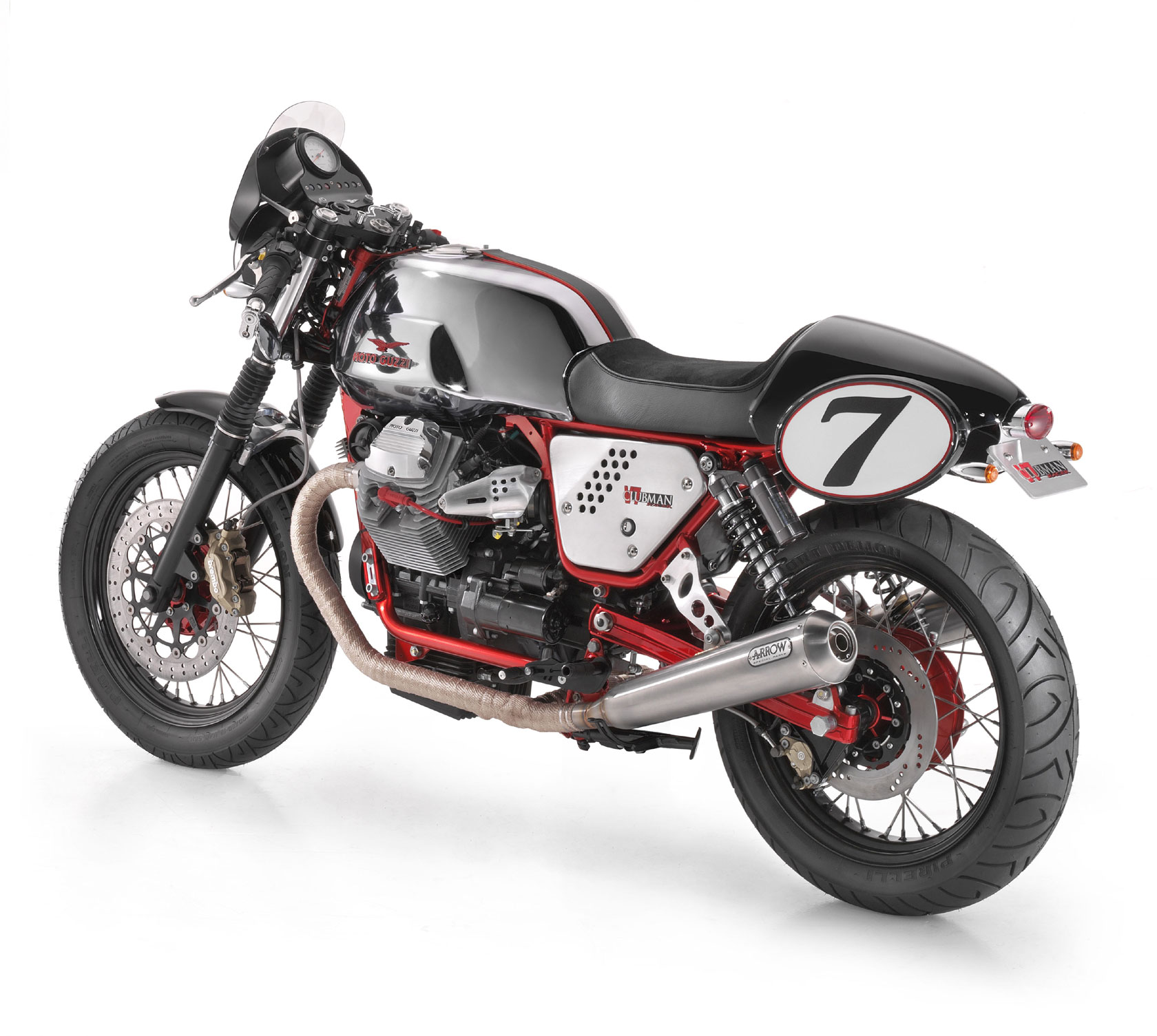 Moto Guzzi V7 Clubman Racer 2010 wallpapers #139498