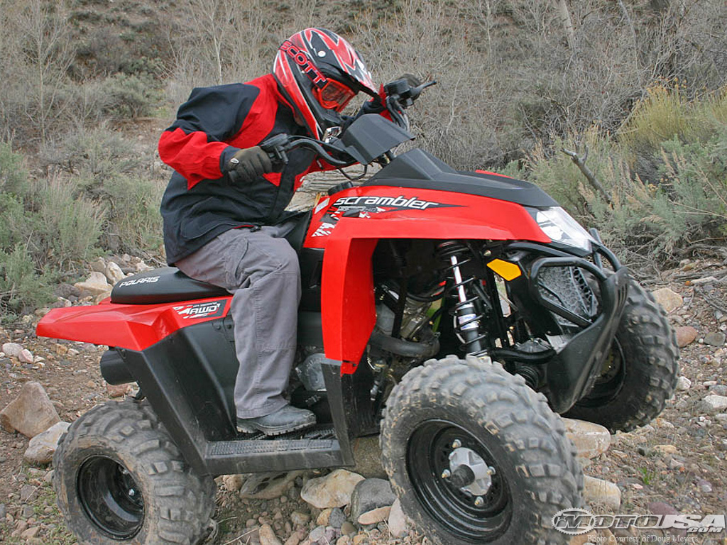 Polaris Scrambler 500 2008 images #121292