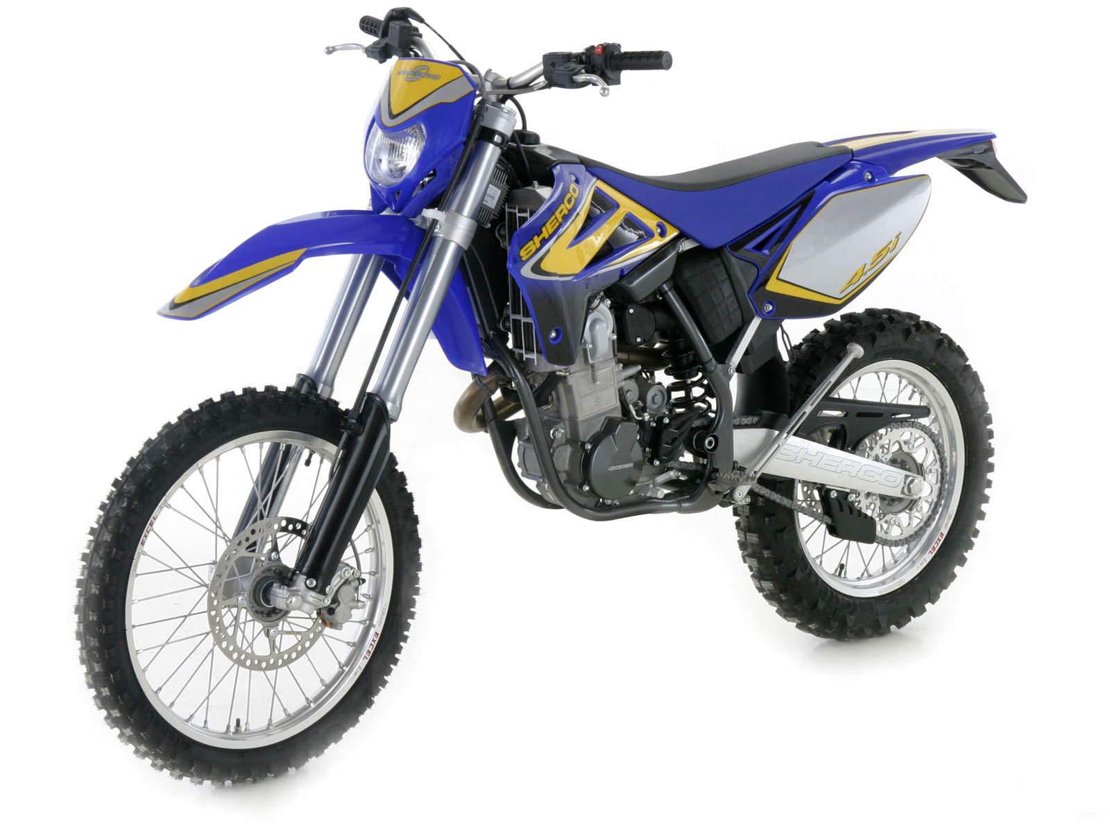 Sherco 125cc Enduro Shark Replica 2007 images #124654