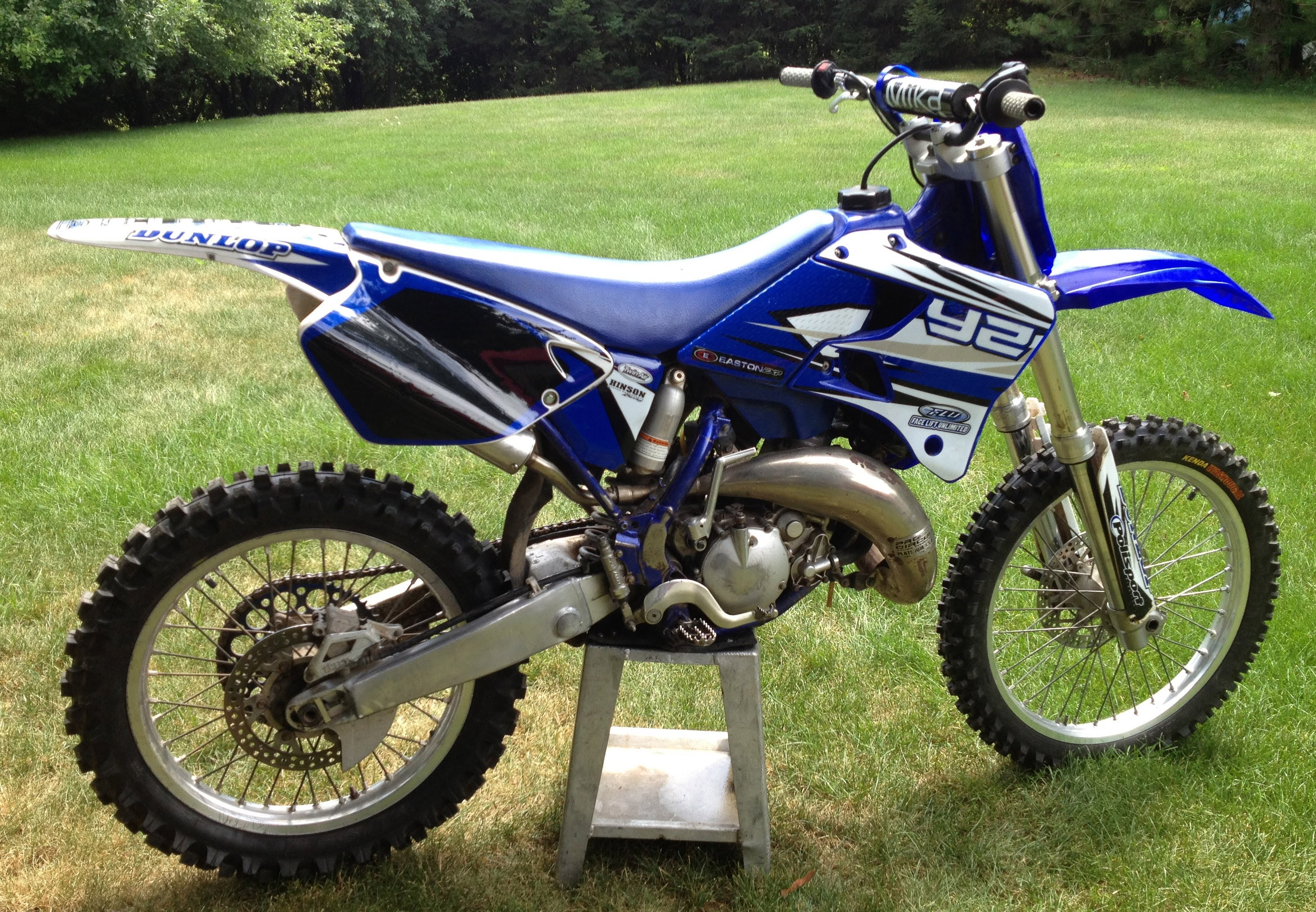 Air Cooled Yz250 Images