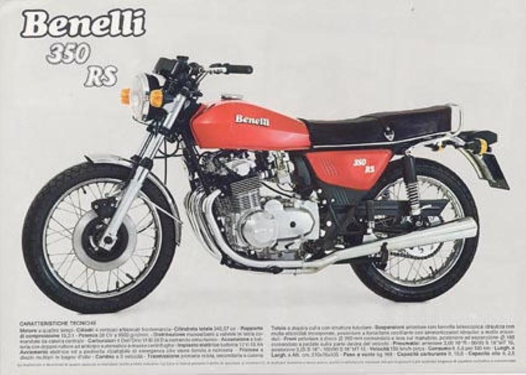 Benelli 350 RS 1979 images #75876