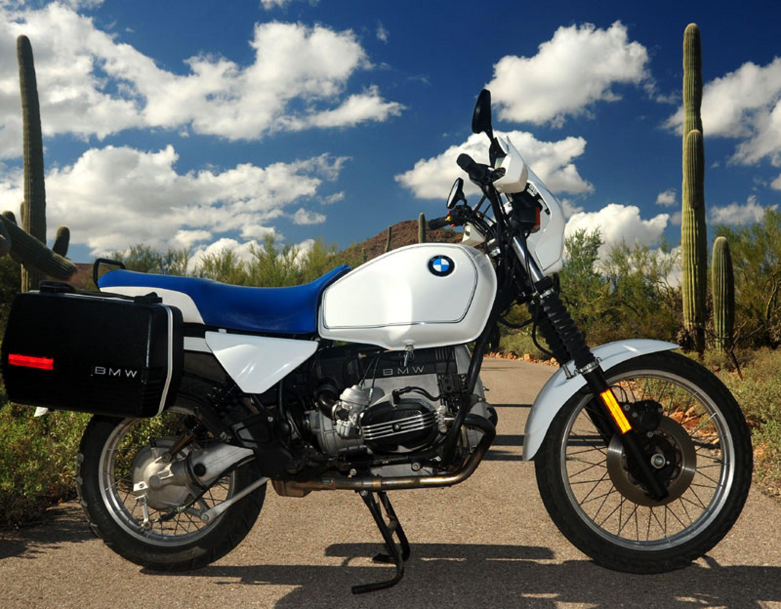 BMW R100GS 1988 images #30788