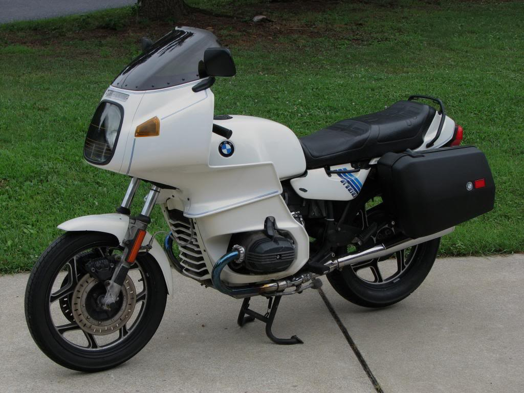BMW R100RT Mono 1989 images #5394
