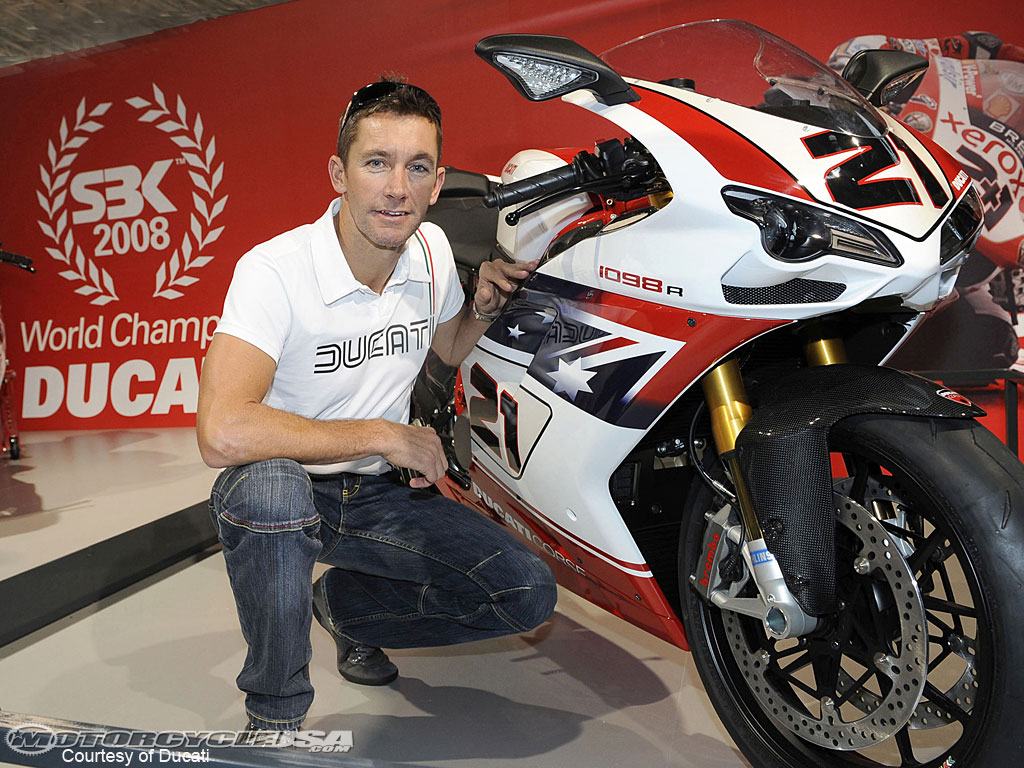 Ducati Superbike 1098 R Bayliss Limited Edition 2009 wallpapers #12432