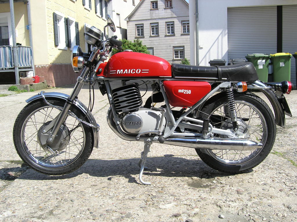 Maico MD 250/6 1975 images #101955