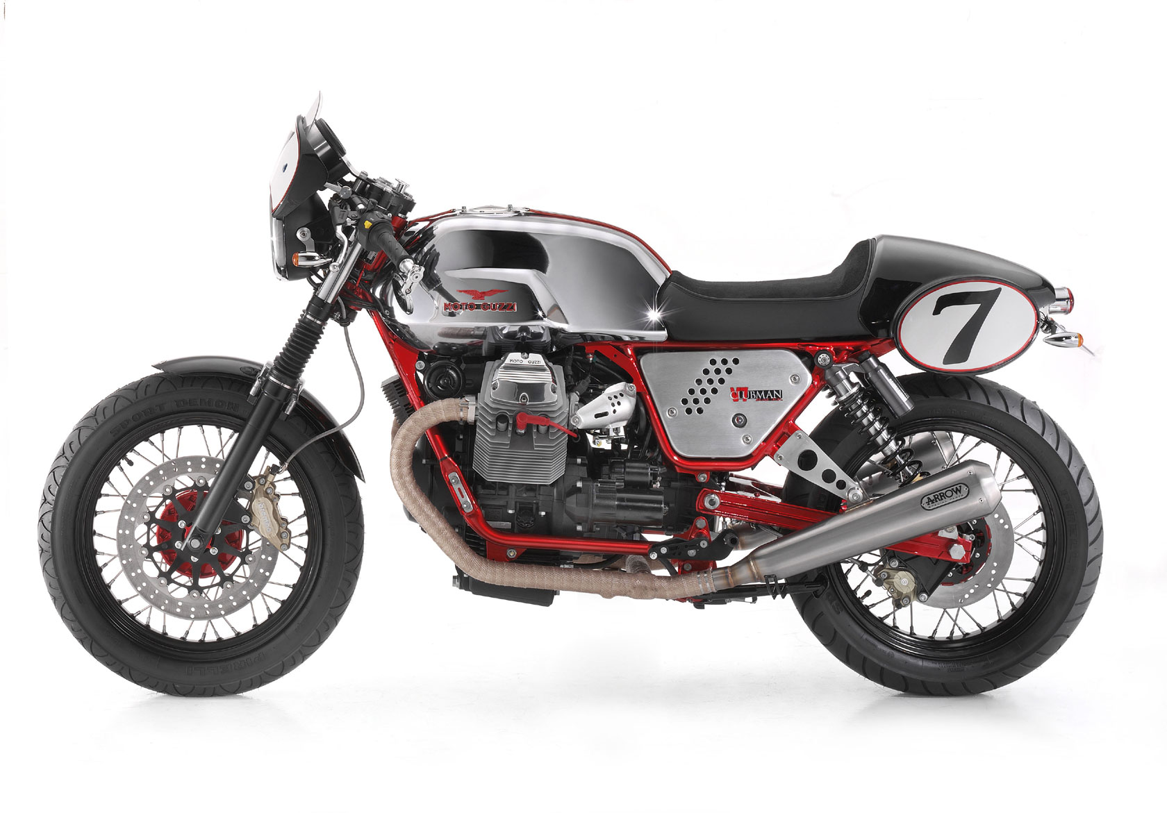 Moto Guzzi V7 Clubman Racer 2010 wallpapers #139499