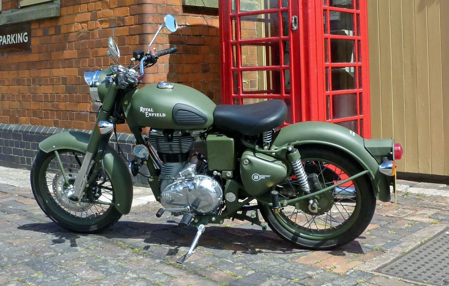 Royal Enfield Bullet 500 Trial Trail images #123760