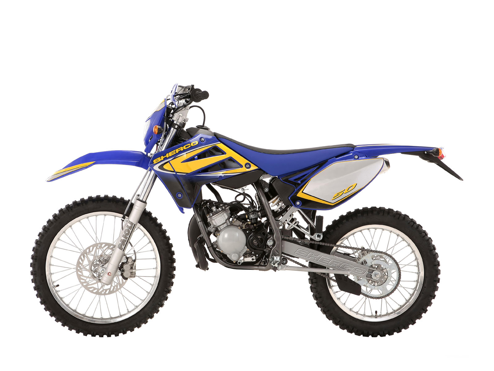 Sherco 125cc Enduro Shark Replica 2007 images #124655