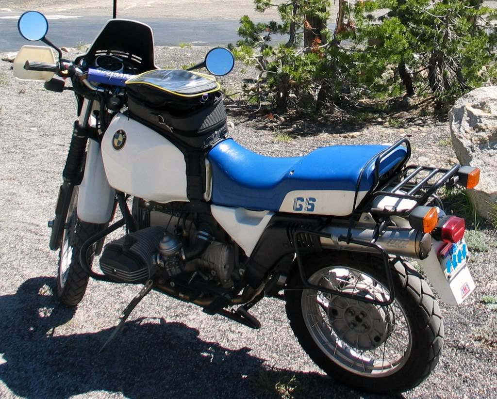BMW R100GS 1988 images #30789