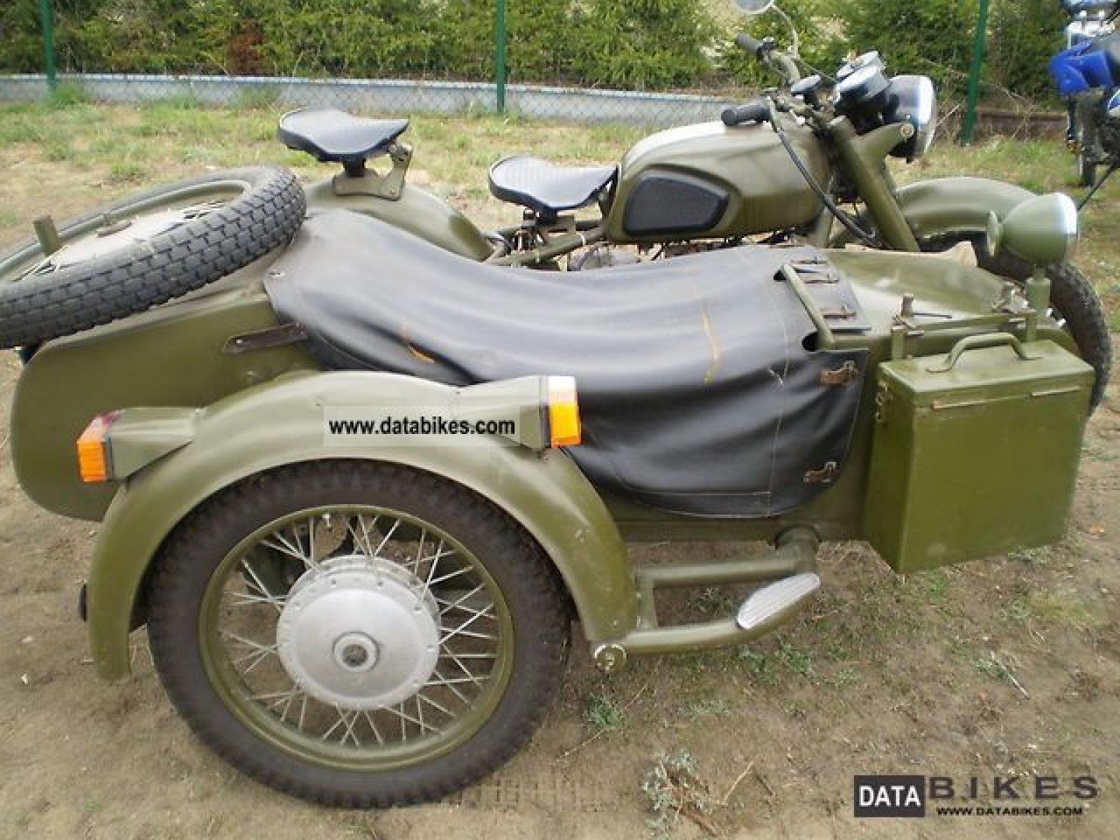 Dnepr MT 11 with sidecar 1991 images #70440