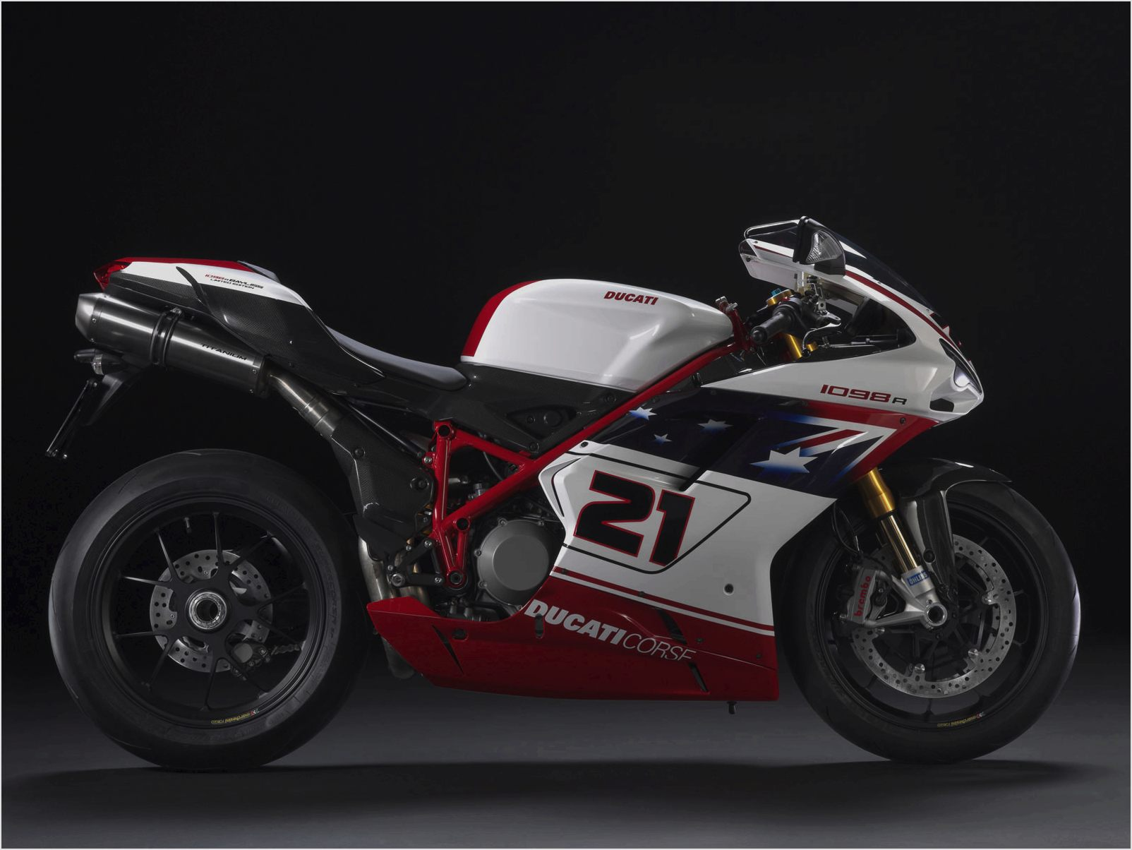 Ducati Superbike 1098 R Bayliss Limited Edition 2009 wallpapers #12433