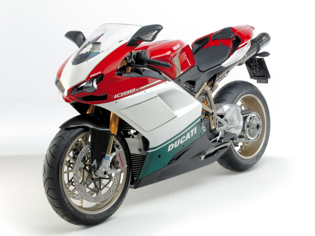 Ducati Superbike 1098 S Tricolore 2007 wallpapers #12036