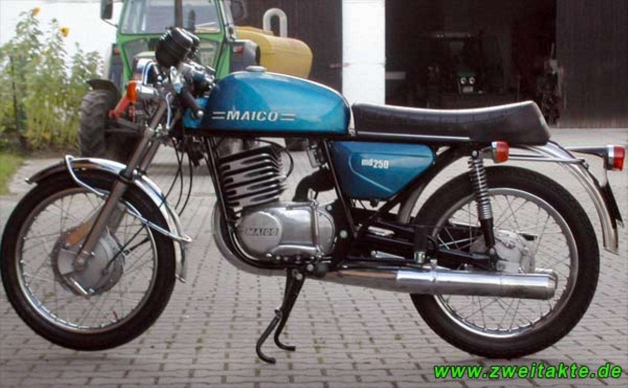 Maico MD 250/6 1975 images #101956