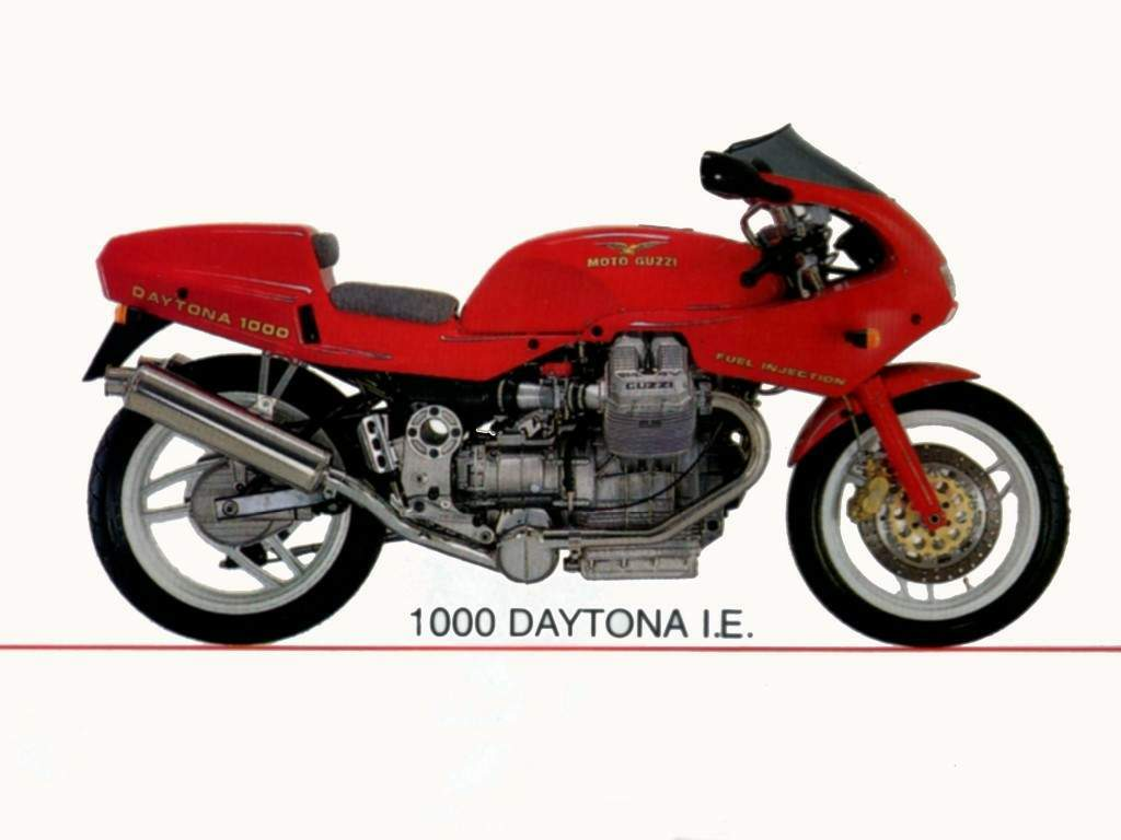 Moto Guzzi 1000 Daytona Injection 1992 images #108586