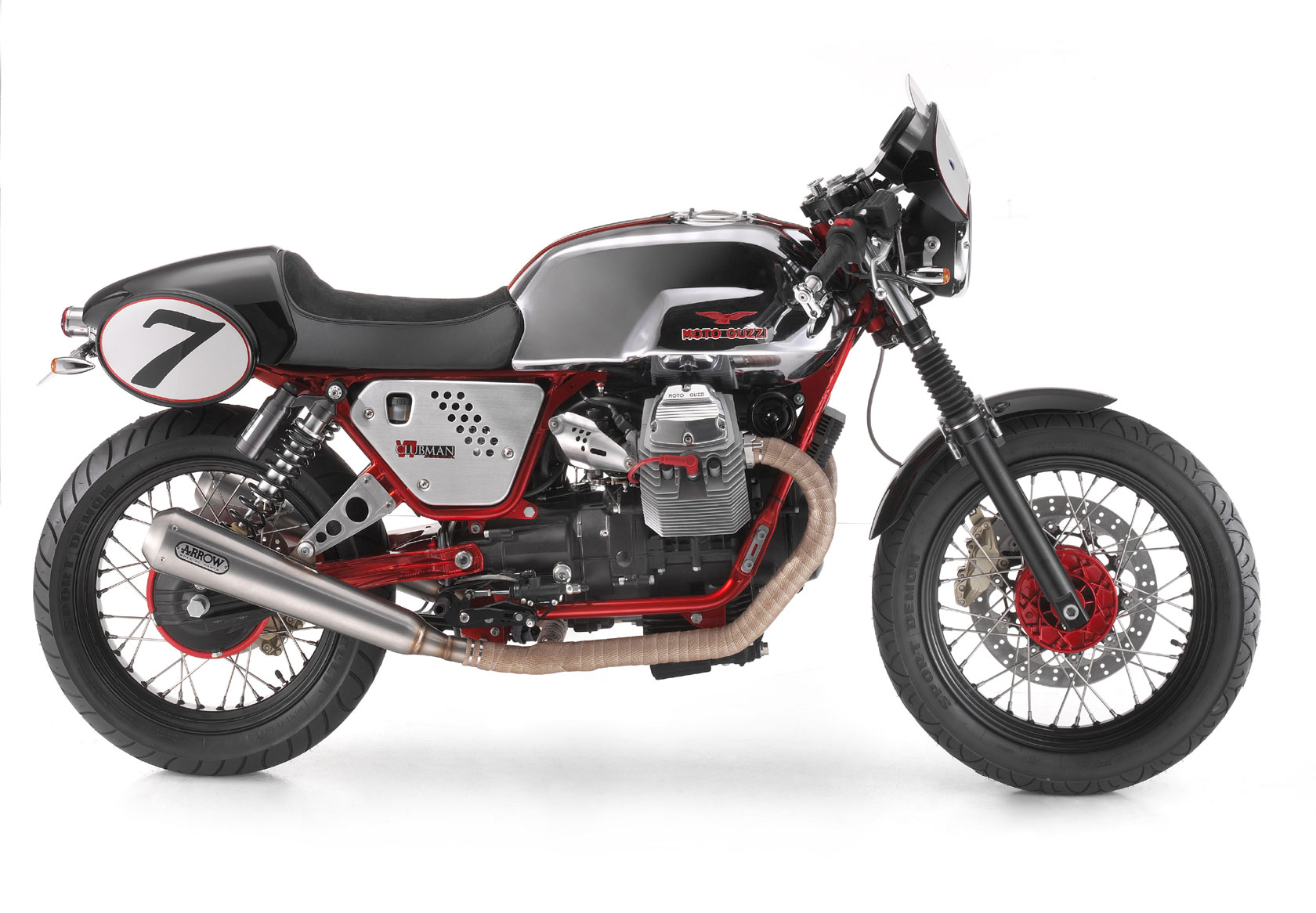 Moto Guzzi V7 Clubman Racer 2010 wallpapers #139500