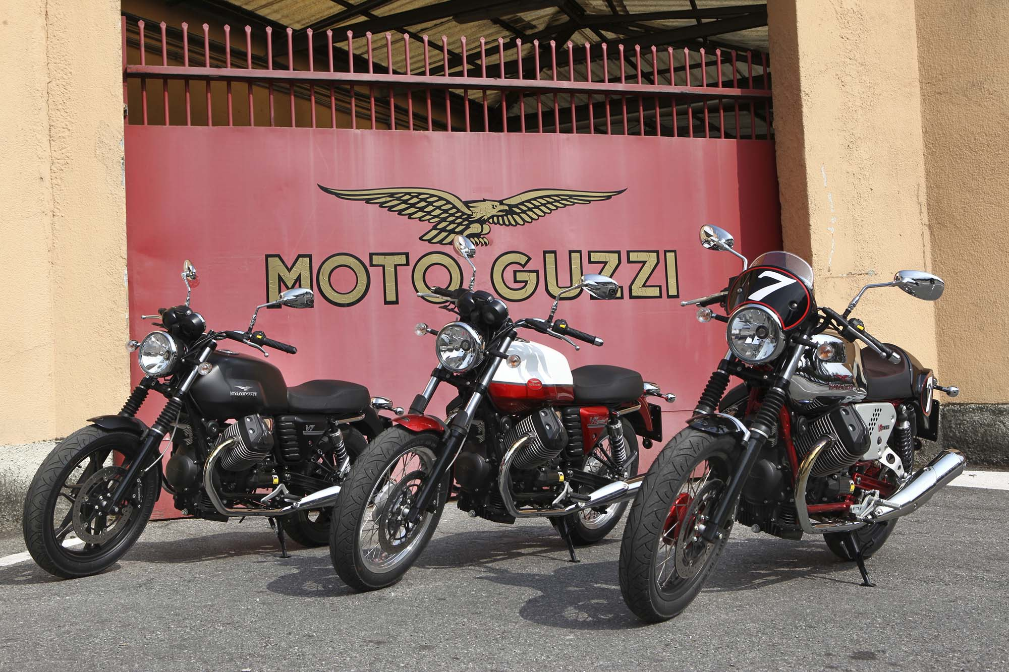 Moto Guzzi V7 Racer 2013 wallpapers #139599