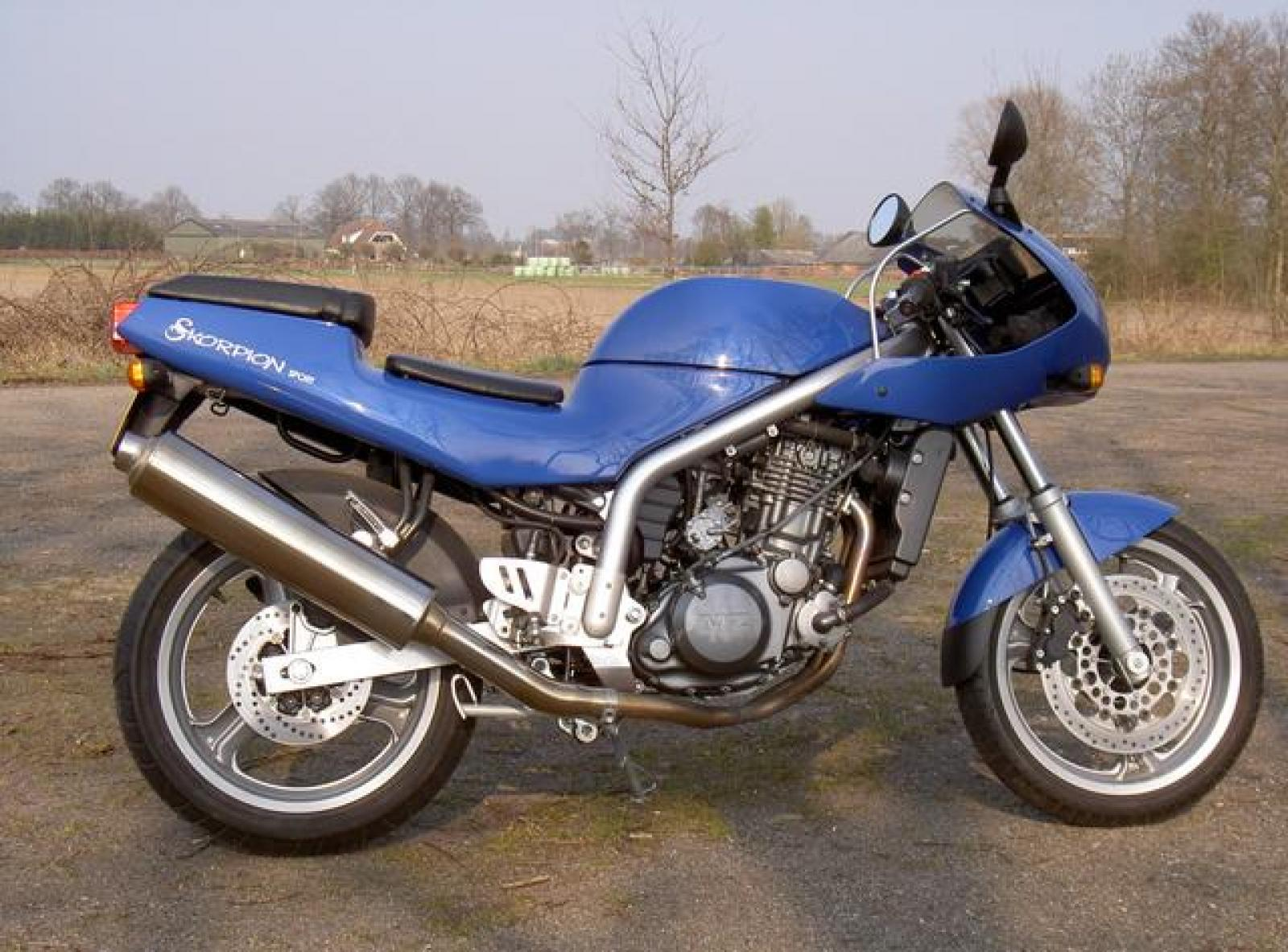 MZ Skorpion 660 Sport 1995 images #116473