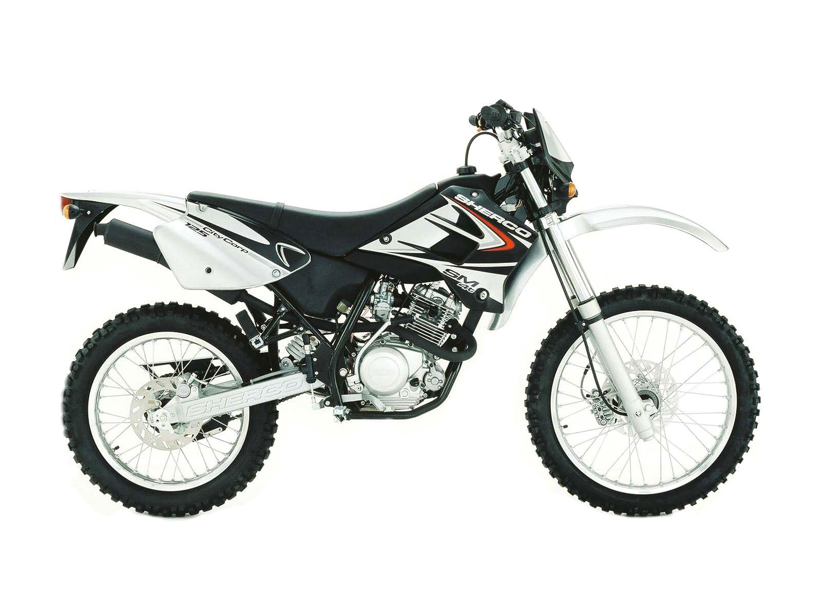 Sherco 125cc Enduro Shark Replica 2007 images #124656