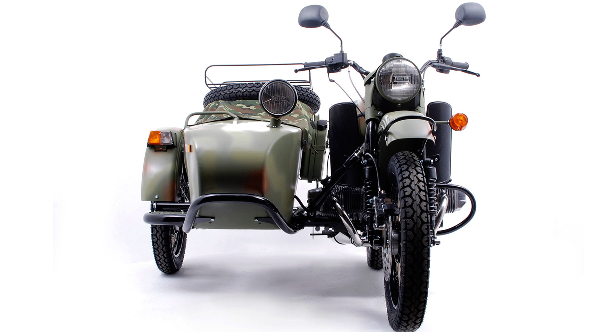 Ural M-63 with sidecar 1977 images #127207