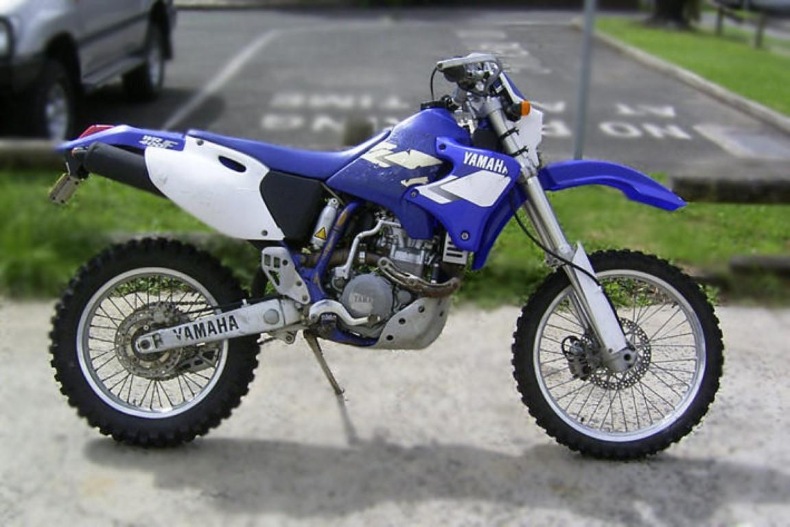 2000 yamaha wr 400 f pics specs and information