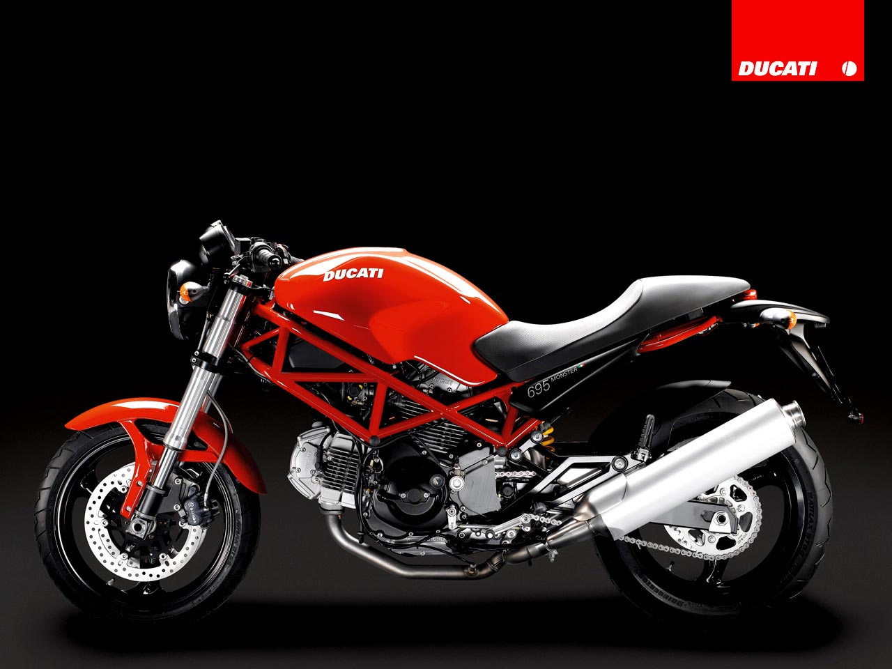 Ducati Monster 695 2008 wallpapers #12335