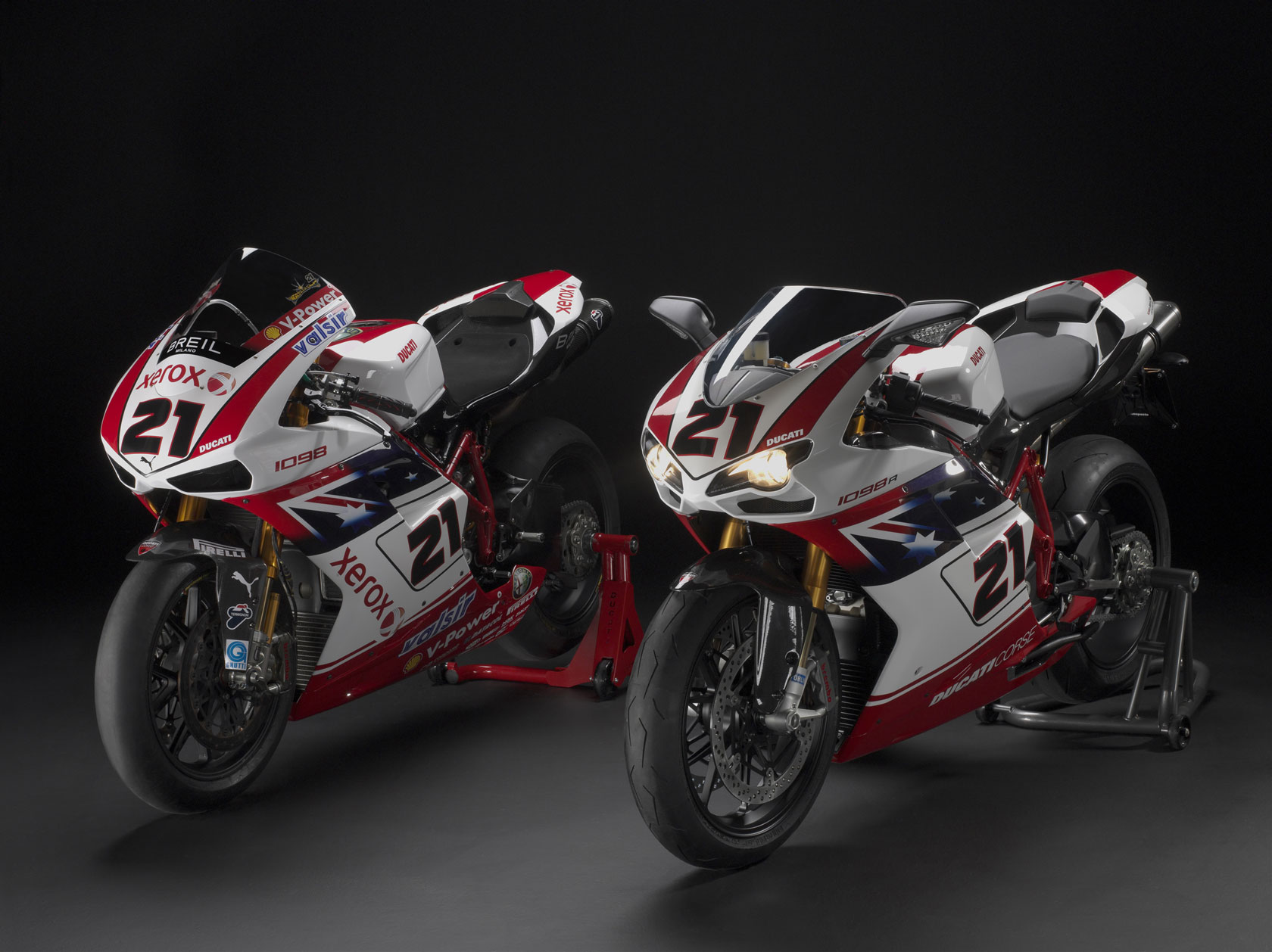 Ducati Superbike 1098 R Bayliss Limited Edition 2009 wallpapers #12434