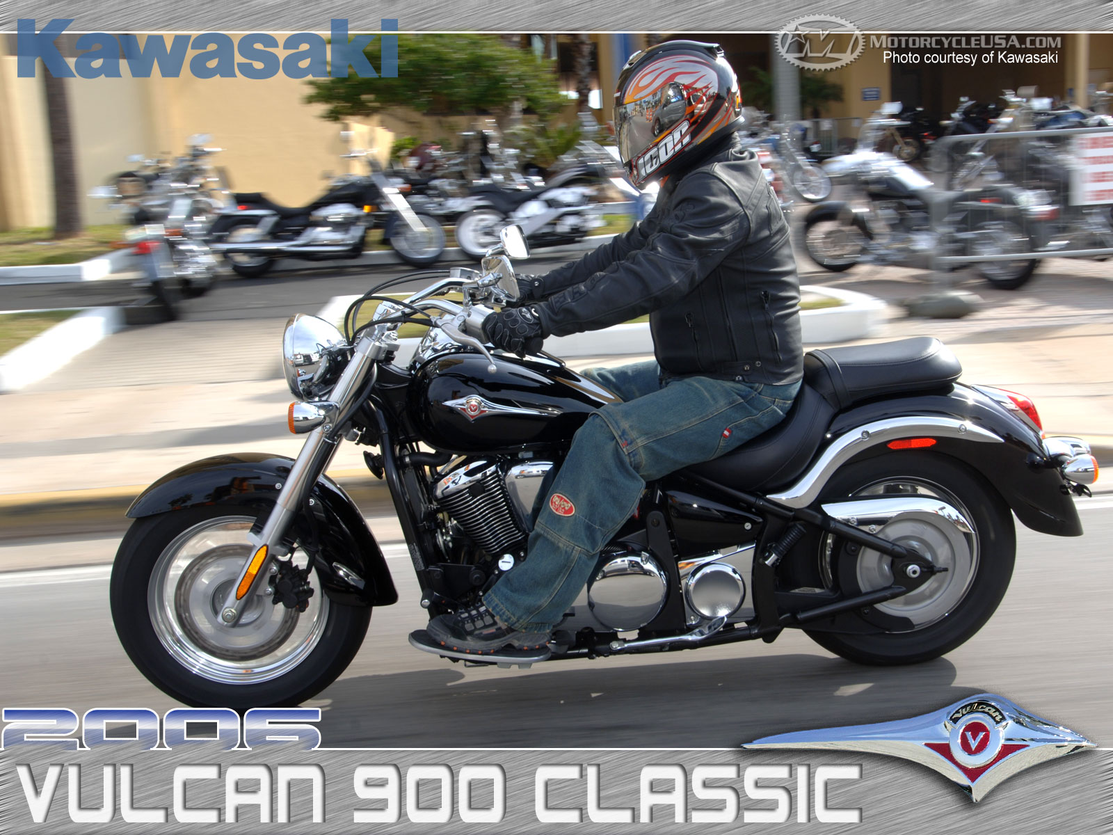Kawasaki VN900 Classic Special Edition 2013 wallpapers #173423